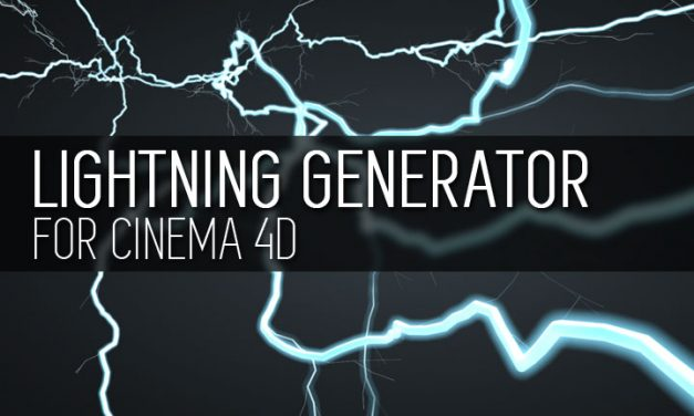 Lightning Generator – Free Cinema 4D Plugin