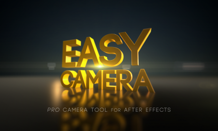 Easy Camera CC – Camera Rig for After Effects